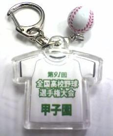 2009 夏の甲子園 高校野球選手権大会 校名入りキーホルダー 背面