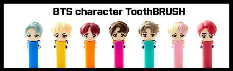 bts Character brush official goods