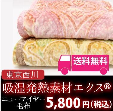 東京西川のエクス ニューマイヤー羽毛布団 送料無料