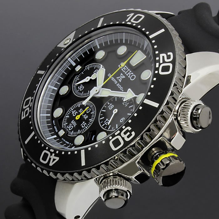 best sneakers 4012f fe3a7 セイコー プロスペックス SEIKO 腕時計 メンズ ダイバーズ ソーラー SEIKO SSC021P1 クロノグラフ