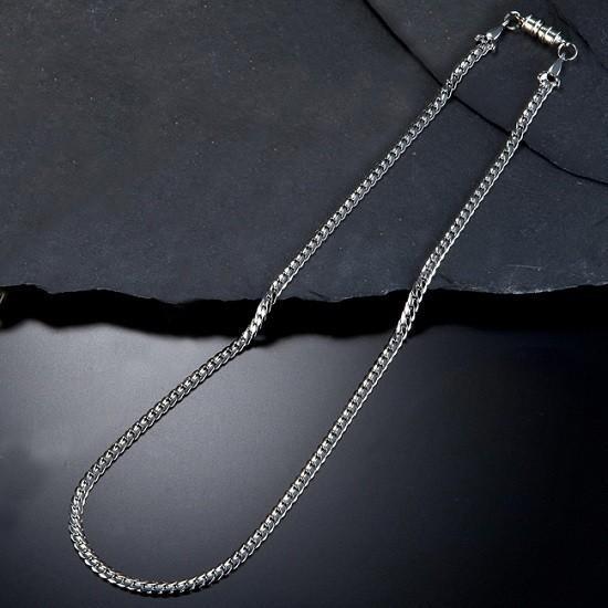 磁気ネックレス おしゃれ ネックレス 喜平 肩こり暖和 頭痛暖和|happinesnet-stora|07