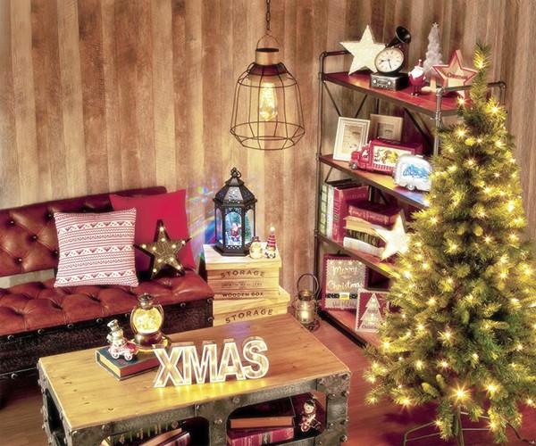 木製クリスマスレター