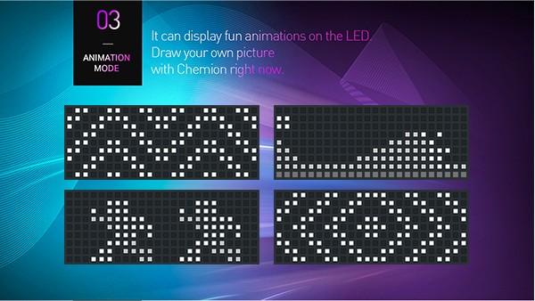 Chemion LED Bluetooth Glasses ケミオン サングラス 眼鏡 メガネ めがね LED 動く 光るサングラス