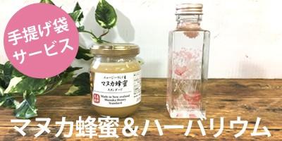 マヌカハニー 蜂蜜 ハーバリウム