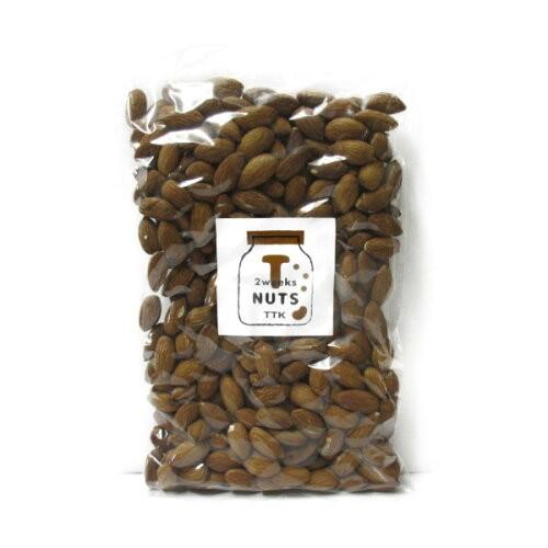 T-NUTS カリフォルニア産 素焼き アーモンド 無塩 350g ハッピーナッツカンパニー