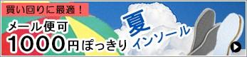 1000円夏インソール