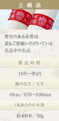 播州手延素麺 揖保の糸 上級品