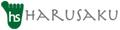 靴下のHARUSAKU ロゴ