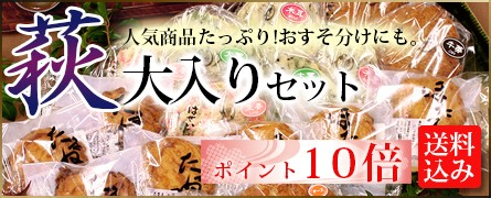 【ポイント10倍】萩大入りセット