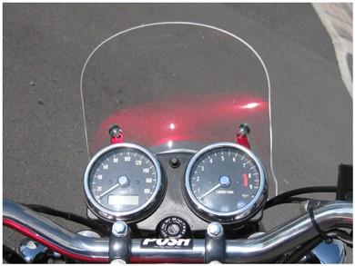 【NHRC】汎用 ミニスクリーン クリアー Mini screen Clear 【SB-A12-01】 W800