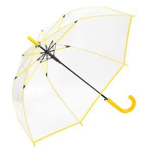 傘 60cm ジャンプ レディース ビニール傘 グラスファイバー 丈夫 メンズ 通学 強風 雨具 雨傘 キッズ ガールズ カラーファイバー|hauhau
