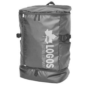 リュック 通学 大容量 メンズ ロゴス LOGOS ビジネス バックパック 30L 二層式 撥水 A4 チェストベルト スクエア リュックサック 高校生 中学生 通勤|hauhau