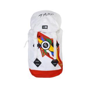 リュック NEWERA ニューエラ 岡本 太郎 TARO コラボ 35L 鯉のぼり 太陽の塔 メンズ レディース ブランド 大容量 リュックサック バックパック 通学|hauhau