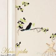 グリッター・鳥と巣箱