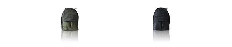 迷彩高密度ナイロン×床革リュック【迷彩ziile 迷彩ジーレ】バッグ・小物・ブランド雑貨/バッグ/男女兼用バッグ/バックパック・リュック by HAYNI