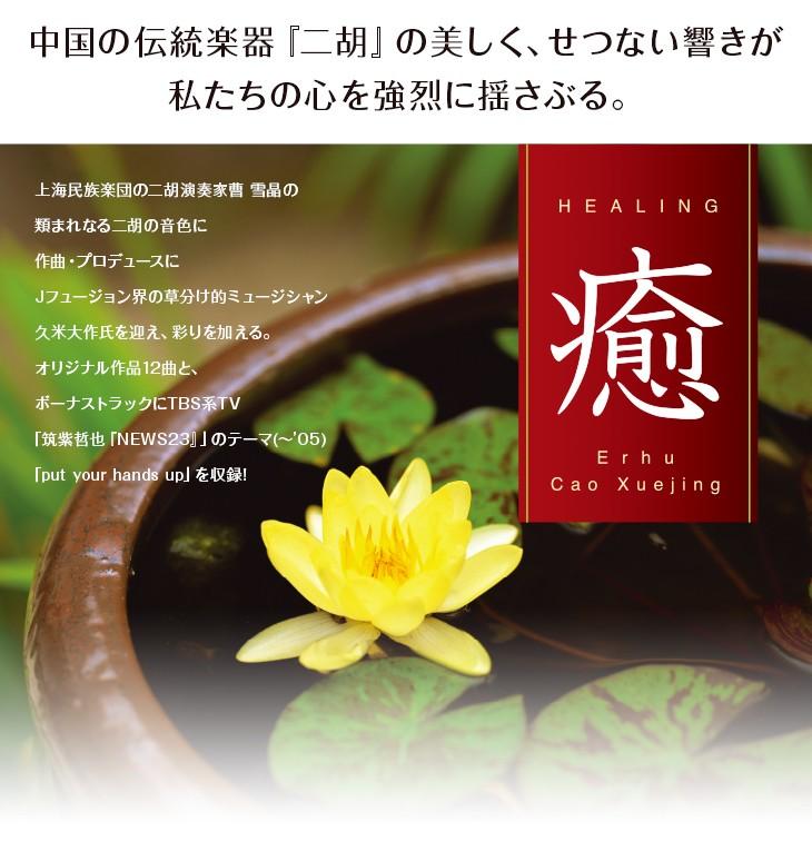 中国の伝統楽器『二胡』。この美しく、せつない響きは、私たちの心を強烈に揺さぶる。