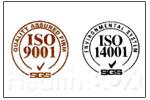 ISO9001認定工場にて製造された商品