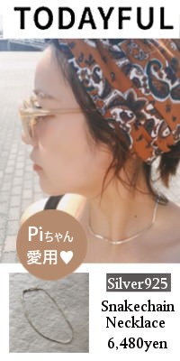 TODAYFUL(トゥデイフル)Silver925 Snakechain Necklace