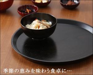 丸盆 神代すり(尺)