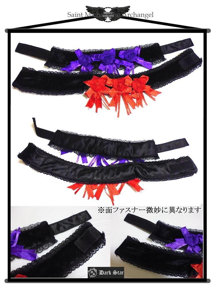 ゴシック薔薇チョーカー,ファッション通販セレクトショップハローインポート画像2枚目