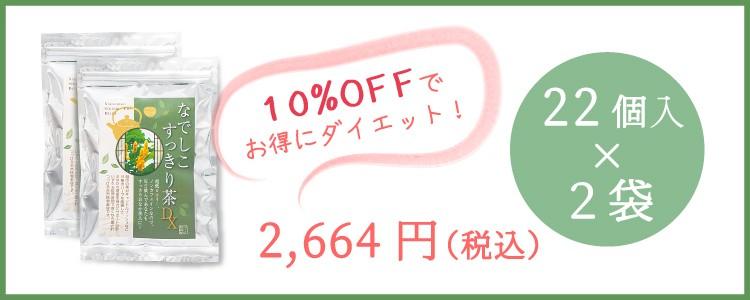 送料無料 国産黒豆・ごぼう配合の天然成分100%の体に優しいお茶2パック1000円お得