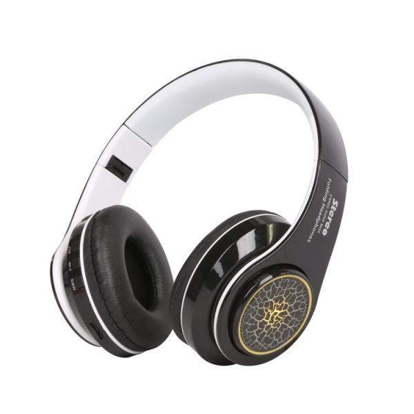 Bluetoothワイヤレス ヘッドホン/ヘッドフォン Squid 折りたたみ式 通話機能 有線接続可 LEDTYPE|hfs05|13