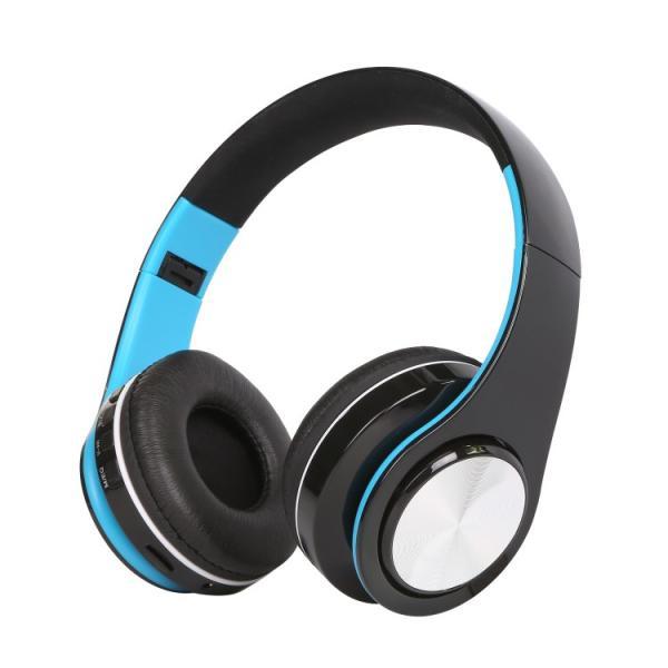 Bluetoothワイヤレス ヘッドホン/ヘッドフォン Sepia 折りたたみ式 通話機能 有線接続可 normalTYPE|hfs05|09