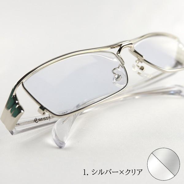 ミラーサングラス 運転 トラックドライバー 度付きメガネ 透明なサングラス ちょい悪 メンズ 大きいサイズ 幽剣 バイク ドライブ UVカット hidetora 16