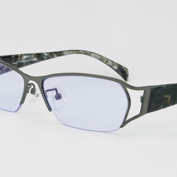 度付きサングラス 夜の運転 メガネ 薄い色 LEDヘッドライト トラック ちょい悪 大きいサイズ ネオコントラスト 紫竜 バイク ドライブ UVカット hidetora 23