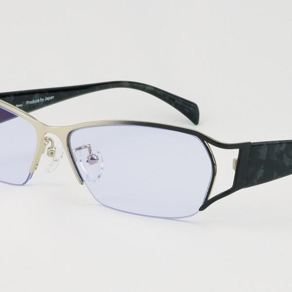 度付きサングラス 夜の運転 メガネ 薄い色 LEDヘッドライト トラック ちょい悪 大きいサイズ ネオコントラスト 紫竜 バイク ドライブ UVカット hidetora 26
