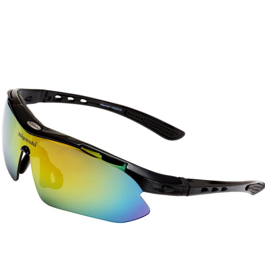 サングラス スポーツサングラス 偏光 サングラス スポーツ UVカット メンズ レディース ゴルフ サイクリング 野球 HSG03-4|higashi-corp|14