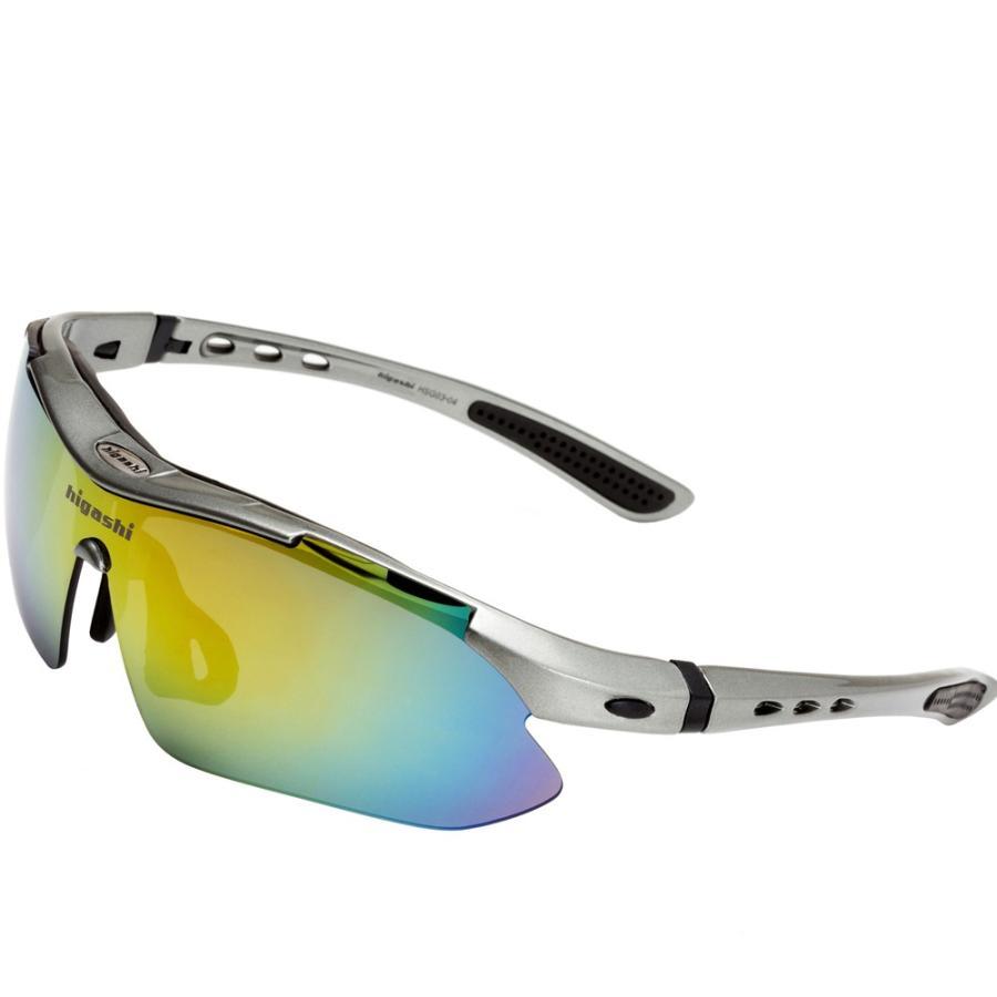 サングラス スポーツサングラス 偏光 サングラス スポーツ UVカット メンズ レディース ゴルフ サイクリング 野球 HSG03-4|higashi-corp|16