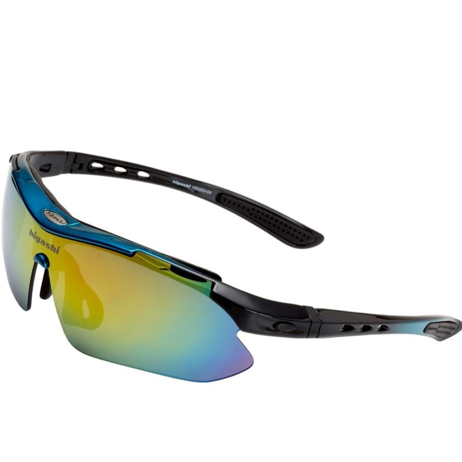 サングラス スポーツサングラス 偏光 サングラス スポーツ UVカット メンズ レディース ゴルフ サイクリング 野球 HSG03-4|higashi-corp|17