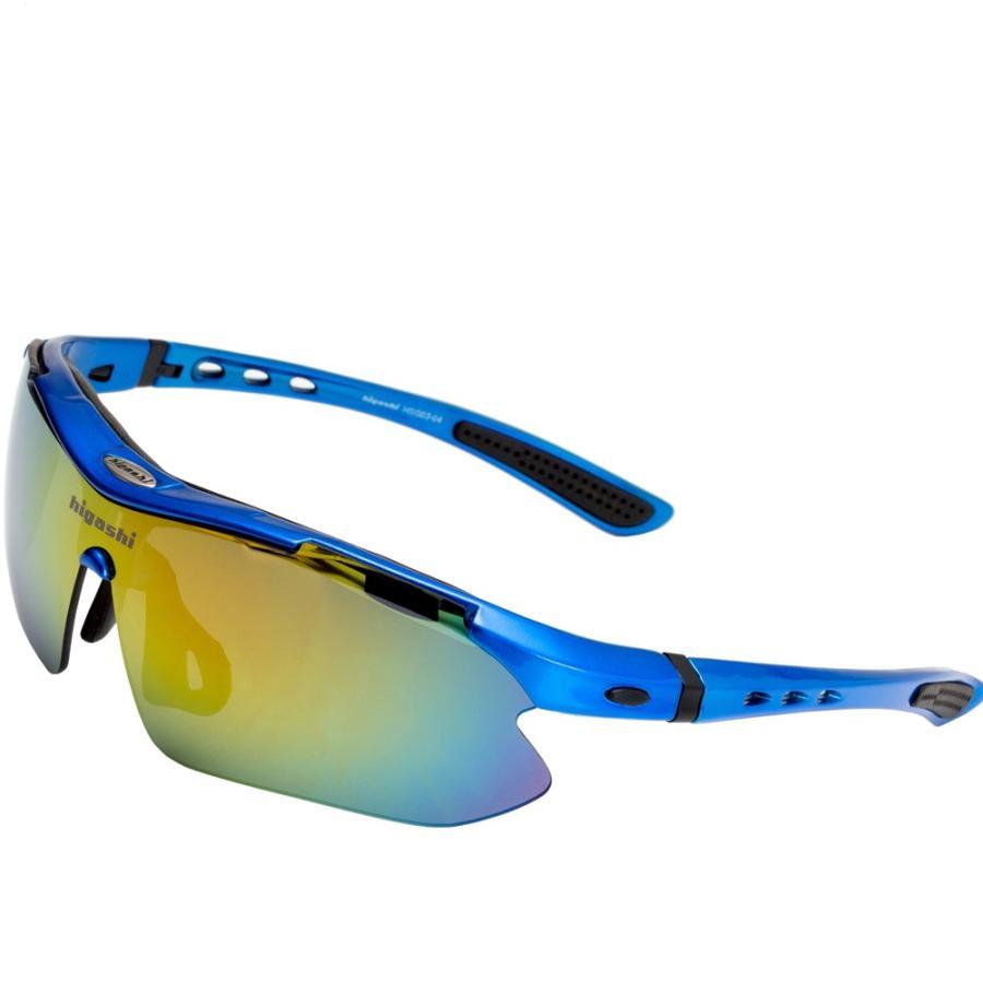 サングラス スポーツサングラス 偏光 サングラス スポーツ UVカット メンズ レディース ゴルフ サイクリング 野球 HSG03-4|higashi-corp|19