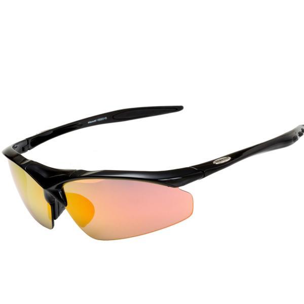 スポーツサングラス 偏光 サングラス スポーツ UVカット メンズ レディース 野球 サイクリング ゴルフ HSG02-5|higashi-corp|18