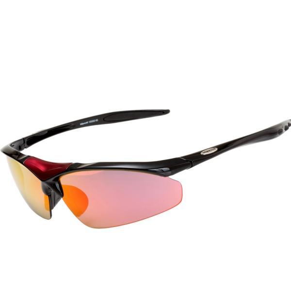 スポーツサングラス 偏光 サングラス スポーツ UVカット メンズ レディース 野球 サイクリング ゴルフ HSG02-5|higashi-corp|19