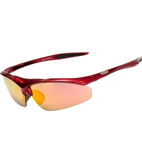 スポーツサングラス 偏光 サングラス スポーツ UVカット メンズ レディース 野球 サイクリング ゴルフ HSG02-5|higashi-corp|21