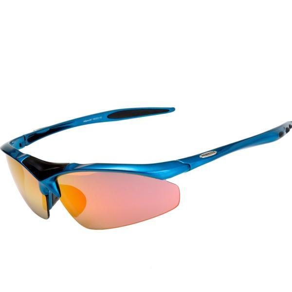 スポーツサングラス 偏光 サングラス スポーツ UVカット メンズ レディース 野球 サイクリング ゴルフ HSG02-5|higashi-corp|22