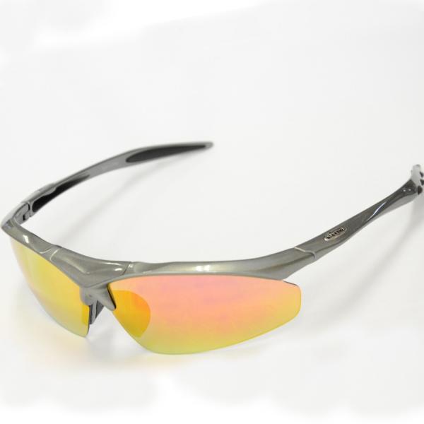 スポーツサングラス 偏光 サングラス スポーツ UVカット メンズ レディース 野球 サイクリング ゴルフ HSG02-5|higashi-corp|25