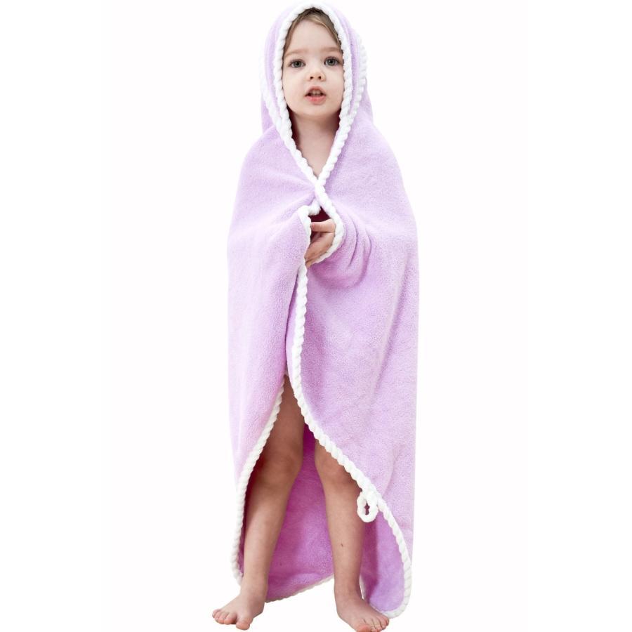 フード付きバスタオル ベビーバスローブ ベビーバスタオル フード付き バスタオル キッズ タオル バスポンチョ 男の子 女の子 お風呂上りに|high-high|13