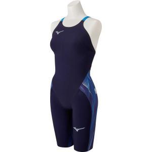 ミズノ 競泳水着 レディース GX SONIC5 MR マルチレーサー オーロラ×ブルー ハーフスーツ 選手向き MIZUNO 2020年モデル N2MG0202|SWIMSHOPヒカリスポーツ