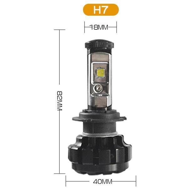 送料無料 LED ヘッドライト フォグランプ CREE XHP50チップを凌ぐ 19200LM H4 Hi/Lo H7/H8/H11/H16/HB3/HB4 12V 車検対応 2年保証 即納 2個セットW2 hikaritrading1 08