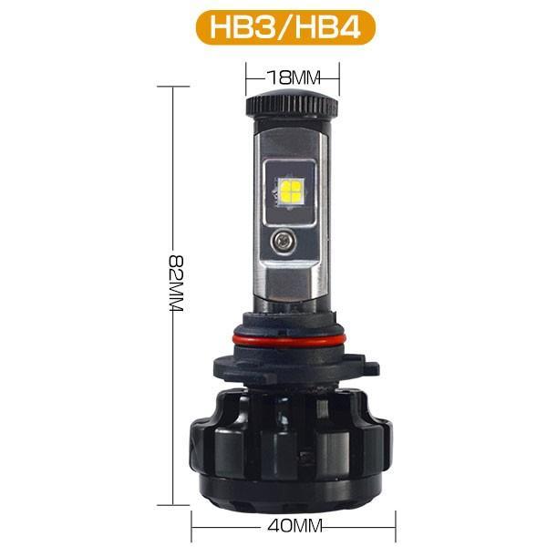 送料無料 LED ヘッドライト フォグランプ CREE XHP50チップを凌ぐ 19200LM H4 Hi/Lo H7/H8/H11/H16/HB3/HB4 12V 車検対応 2年保証 即納 2個セットW2 hikaritrading1 10