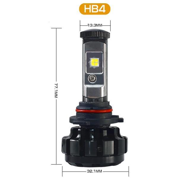 送料無料 LED ヘッドライト フォグランプ CREE XHP50チップを凌ぐ 19200LM H4 Hi/Lo H7/H8/H11/H16/HB3/HB4 12V 車検対応 2年保証 即納 2個セットW2 hikaritrading1 11
