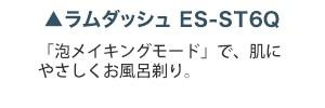 ラムダッシュ ES-ST6Q