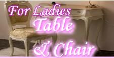 女性向け可愛いテーブル&チェアー一覧