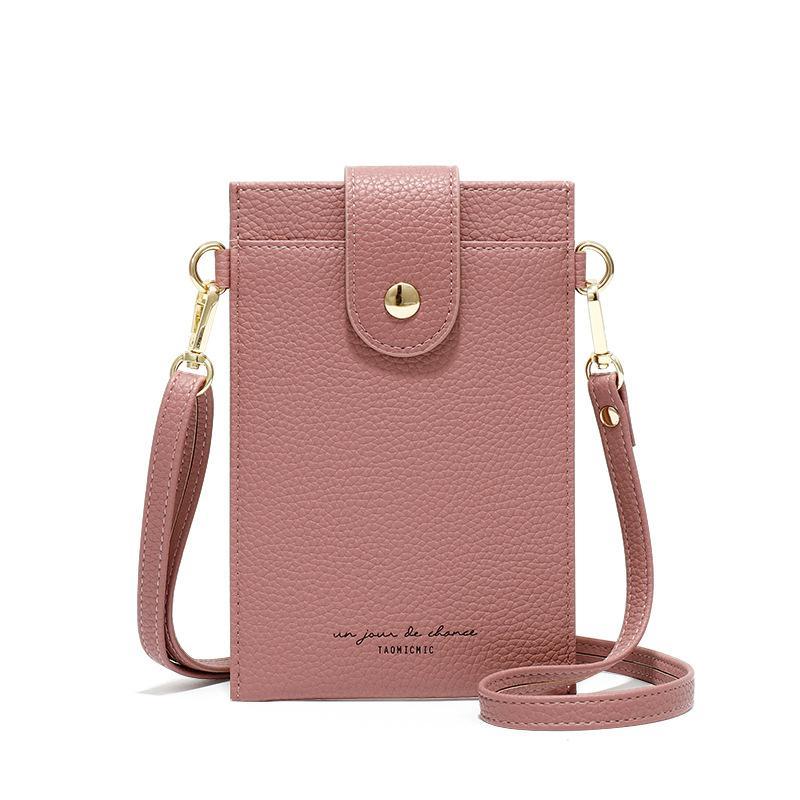 スマホポーチ ショルダーポーチ 携帯電話バッグ カードケース 肩掛け おしゃれ お散歩バッグ ランチバッグ|hinatainc|15