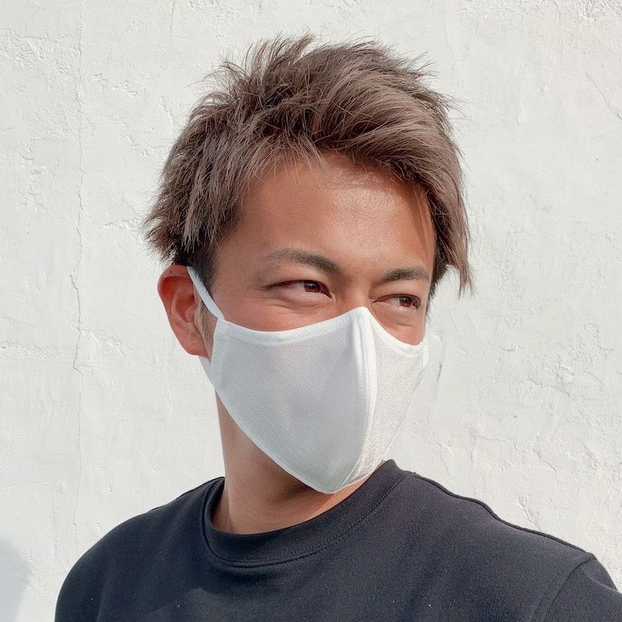 スポーツマスク 日本製 小杉織物 抗菌 夏用 マスク 洗える 大きめ メンズ ノーズワイヤー 洗えるマスク 涼しい 紐 調整 スポーツ 野球|hinatajapan|30