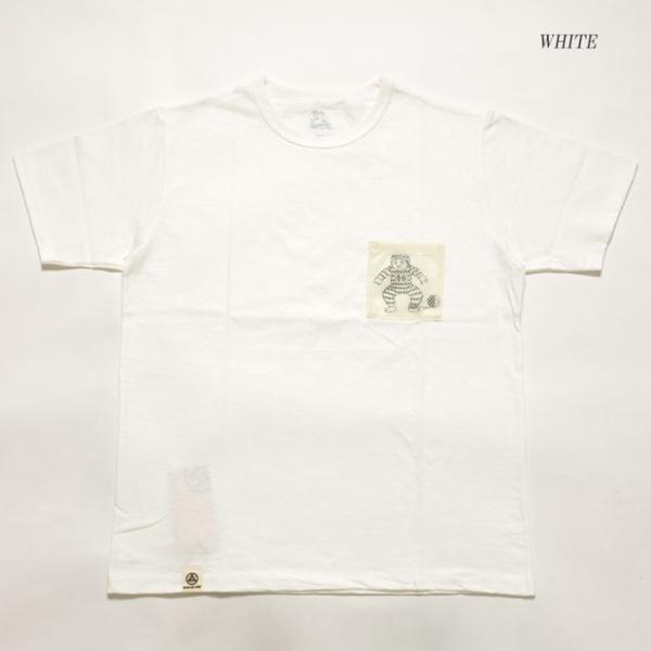 MOMOTARO JEANS (桃太郎ジーンズ)  Lot.07-067 8.2オンス メッシュポケット Tシャツ 07-067|hinoya-ameyoko|07