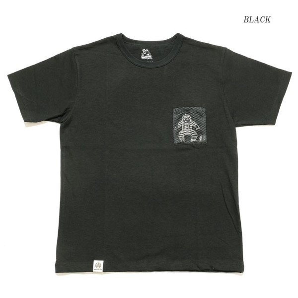 MOMOTARO JEANS (桃太郎ジーンズ)  Lot.07-067 8.2オンス メッシュポケット Tシャツ 07-067|hinoya-ameyoko|08